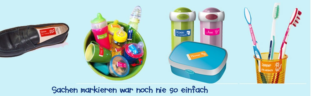 KINDER-NAMENSAUFKLEBER